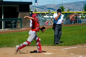 Luke Baseball Long Throw